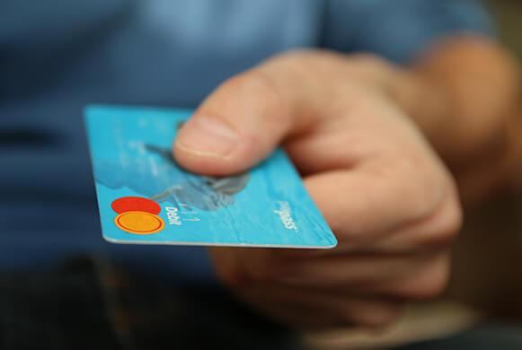 Make online payments with your credit card